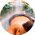 Body Massage with Vichy Rain Shower