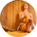 Body Scrub with Infrared Sauna