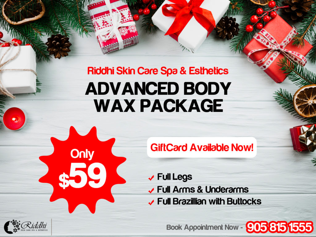 Christmas Spa Packages.Christmas Special Spa Deal Riddhi Skin Care Spa Esthetics