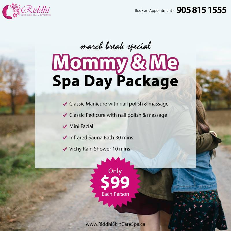 Mommy and Me Spa Package
