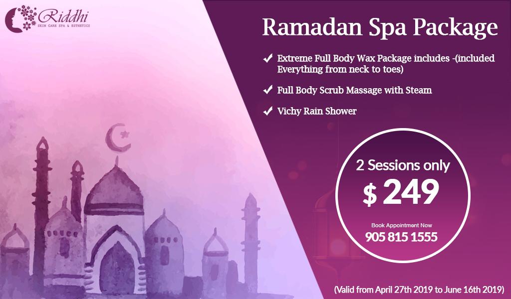 Ramadan Spa Package